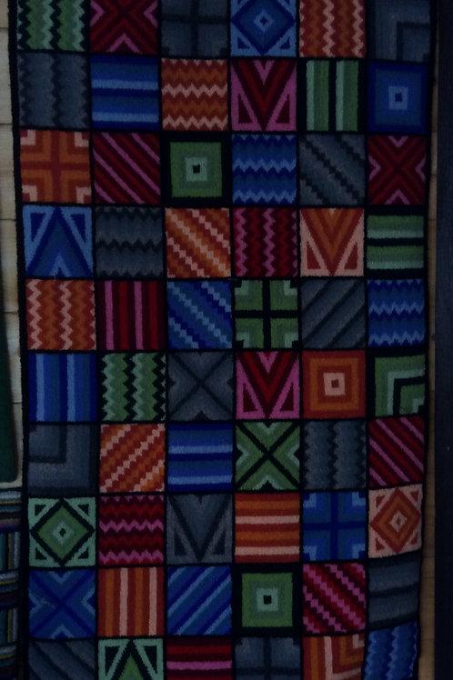 25''x 52'' 84 panel Geometric