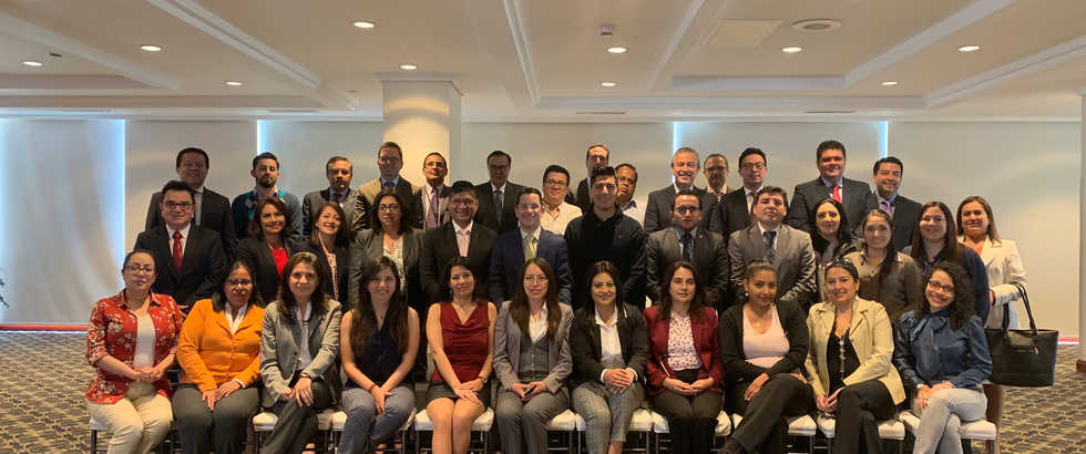 Participantes Seminario Regional PLD - Quito, Ecuador 2019