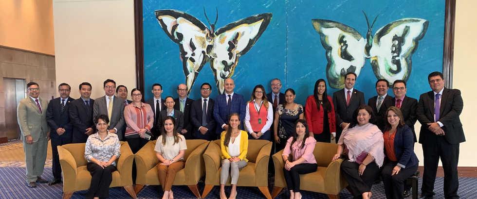 Participantes del Seminario Regional de PLD - Guayaquil, Ecuador 2019