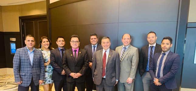 Equipo Plus TI en Seminario Regional - Lima, Perú 20190