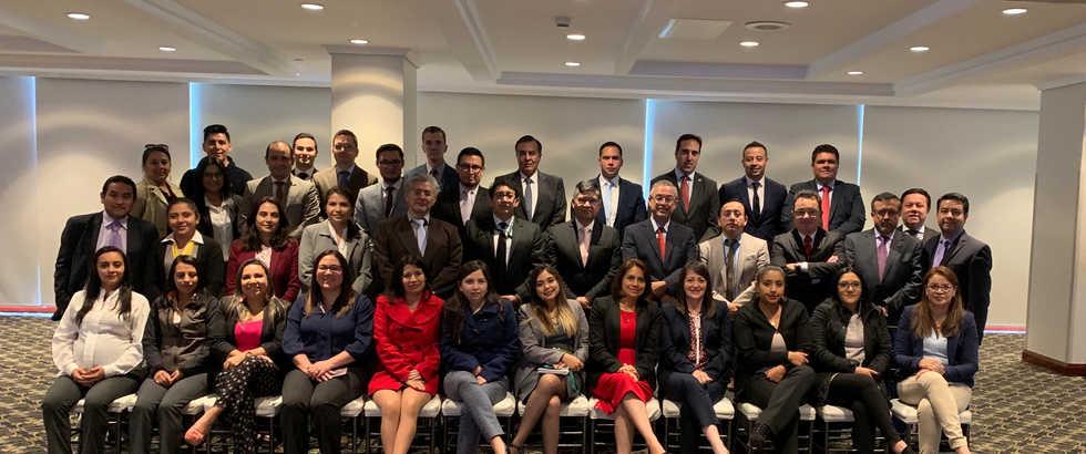Participantes Seminario Regional de Prevención de Fraude - Quito, Ecuador 2019