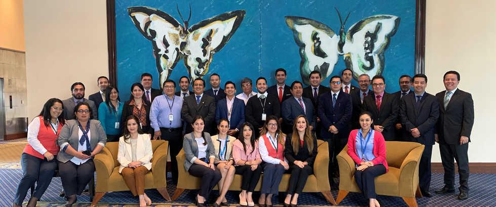 Participantes del Seminario Regional de Prevención de Fraude - Guayaquil, Ecuador 2019