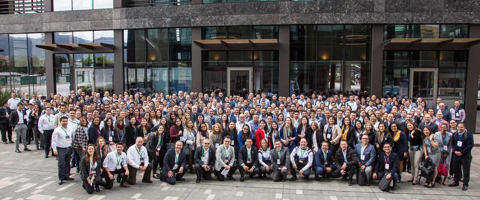 Participantes del Monitor Plus User Conference 2019