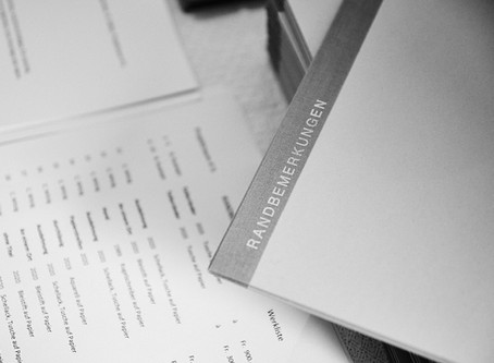 Publikation: Randbemerkungen - Edition