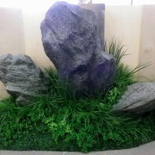 店舗ディスプレイ 擬岩