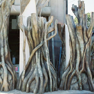 ガジュマル 擬木