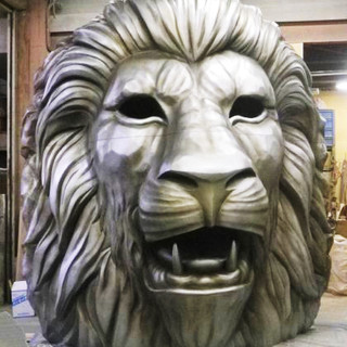 ライオン 顔