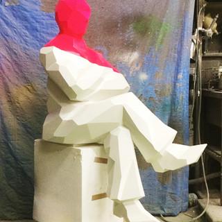 ポリゴン彫像