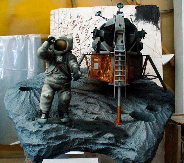 月面模型 月着陸船 (アポロ)