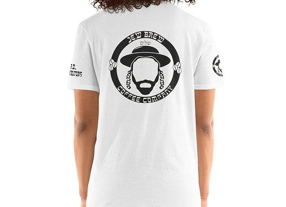 Small & Big JB Logo White Unisex T-Shirt