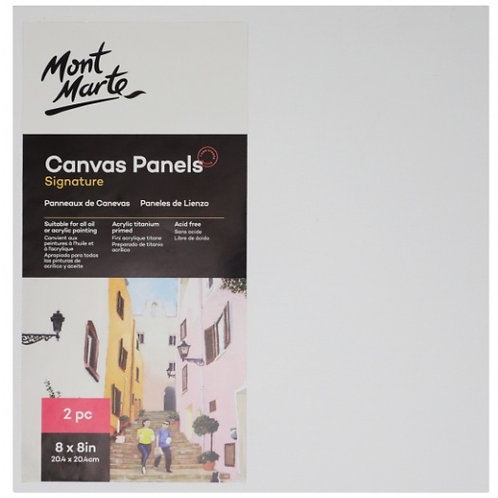 Canvas Panels Pack 2 20.4x20.4cm