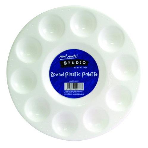 Round Plastic Palette 17cm