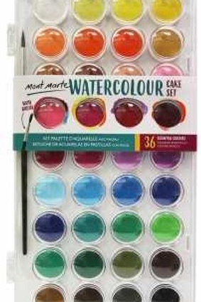 Watercolour Set 37pc