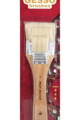 Gesso Brushes Sizes 2/4/6