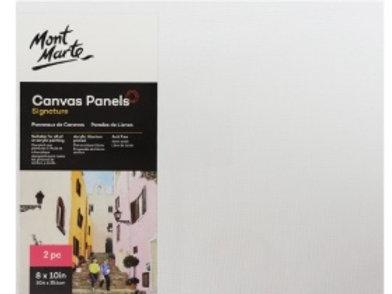 Canvas Panels Pack 2 20.3x25.4cm