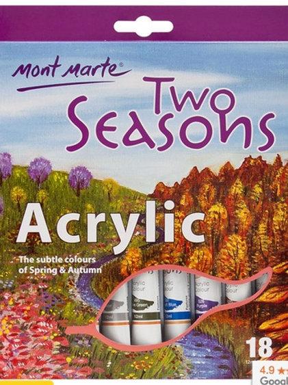 Two Seasons Acrylic 18pc x 12ml