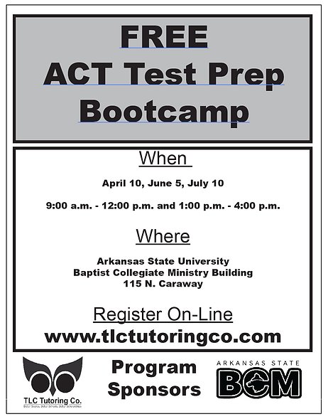 Free ACT Bootcamp