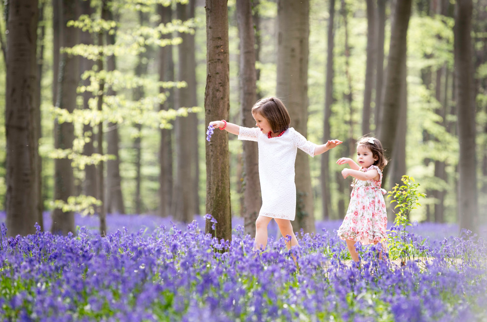 Dance in the bluebells