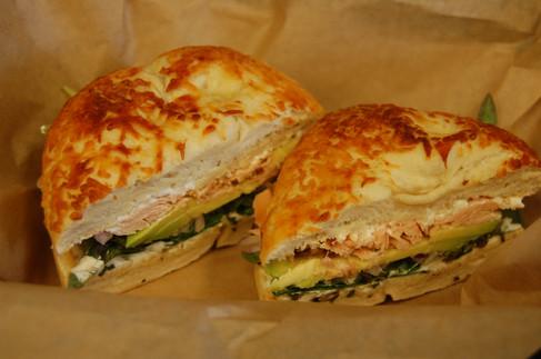schmear with lettuce and avocado.jpg