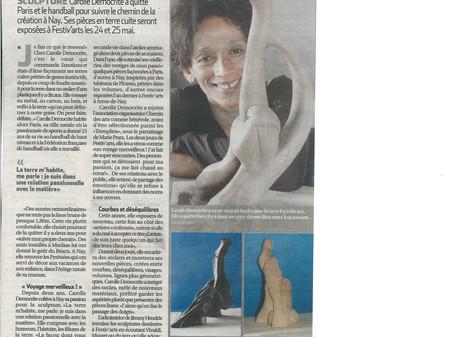 Sculpteure Carolle Democrite