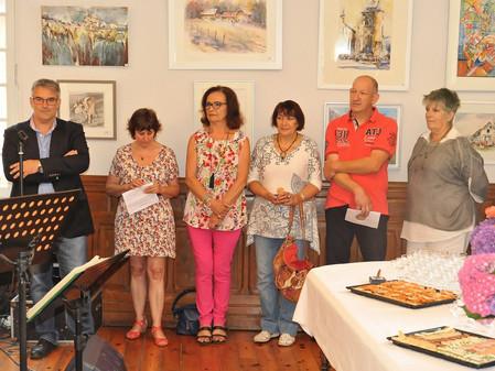 Notre Pastelliste Liliane Marez au 53° Salon des Peintres Pyréneens