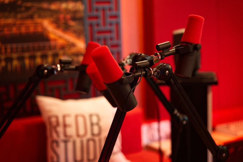 SM7B Podcast recording setup