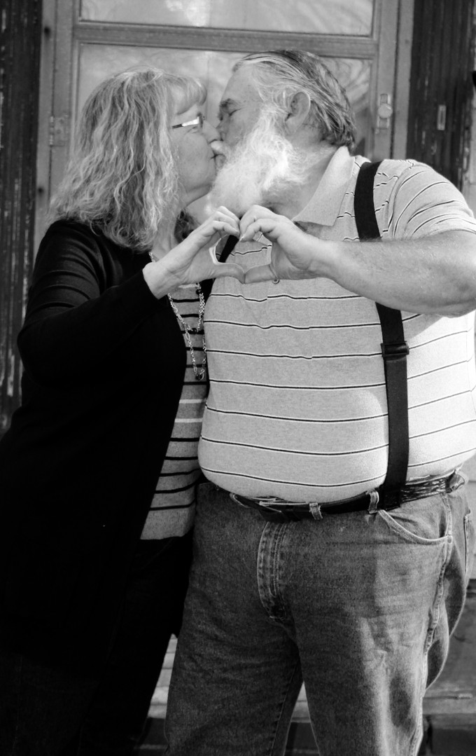 Mommy Daddy Porch Black and White.jpg