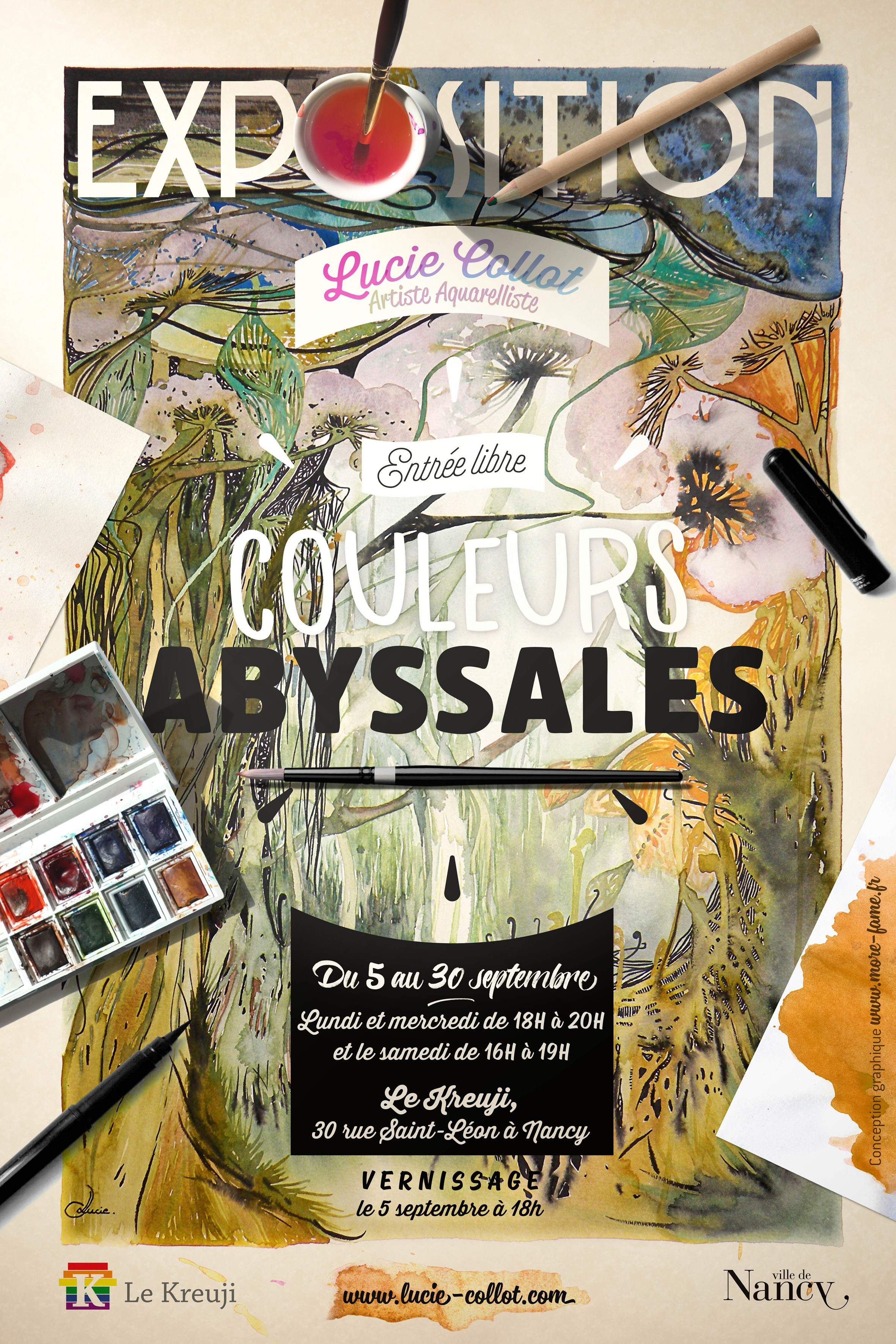 Exposition Couleurs Abyssales