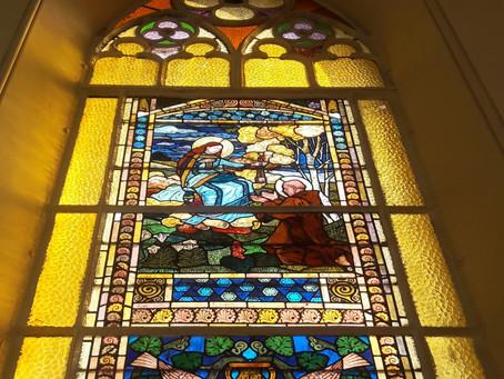 Que dis-je ? Des vitraux d'Eugène Grasset à Nancy !