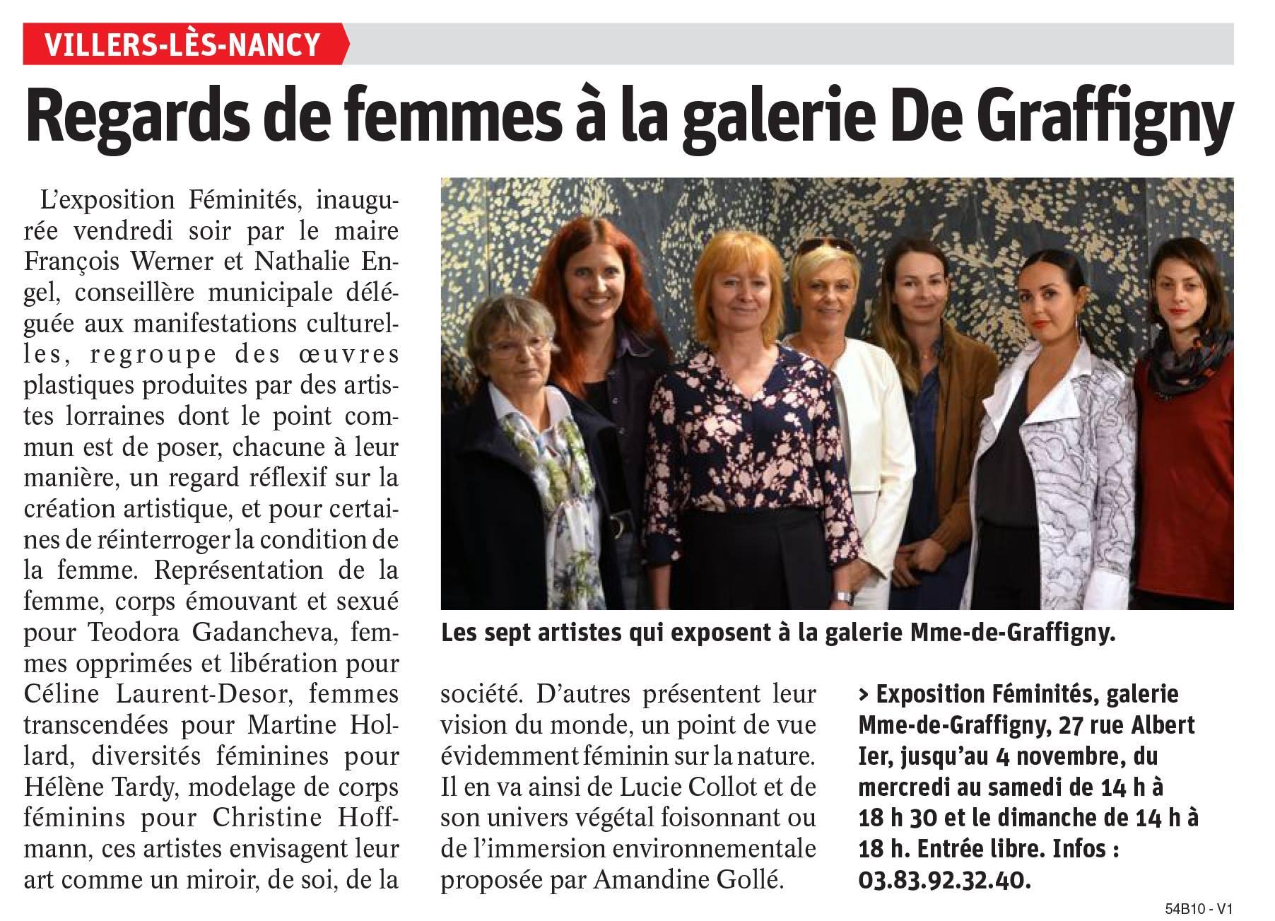 Expo collective Féminités 2018