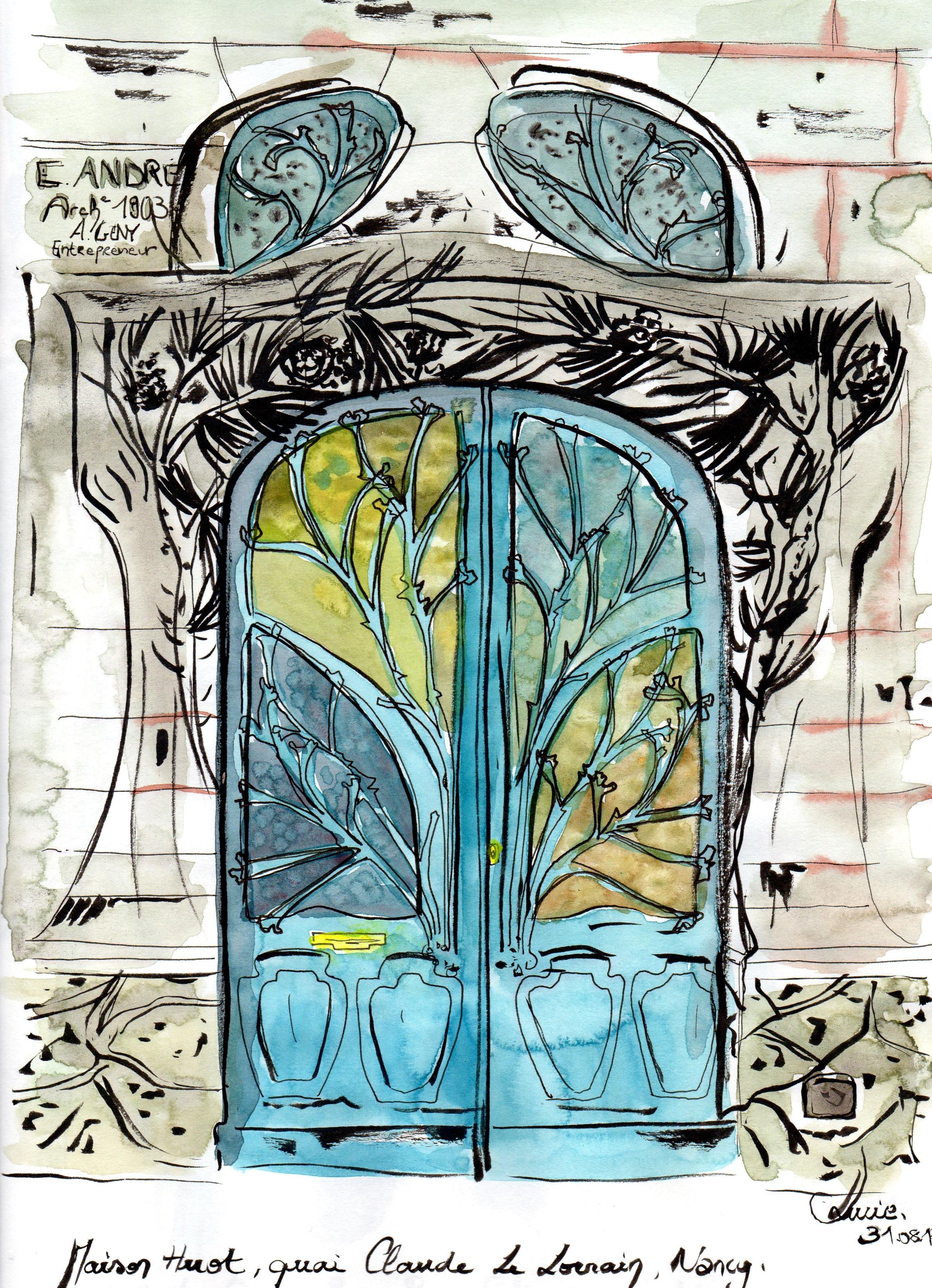 Porte d'entrée - Maison Huot
