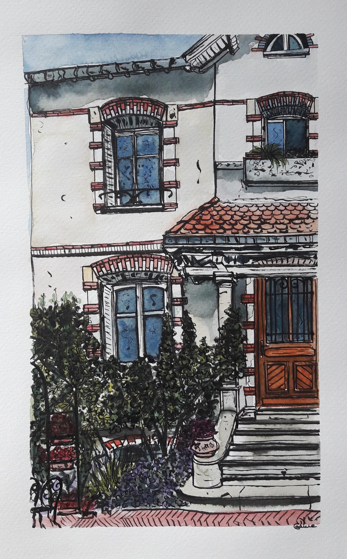 Maison nancéienne - 15x25 cm - mai 2020