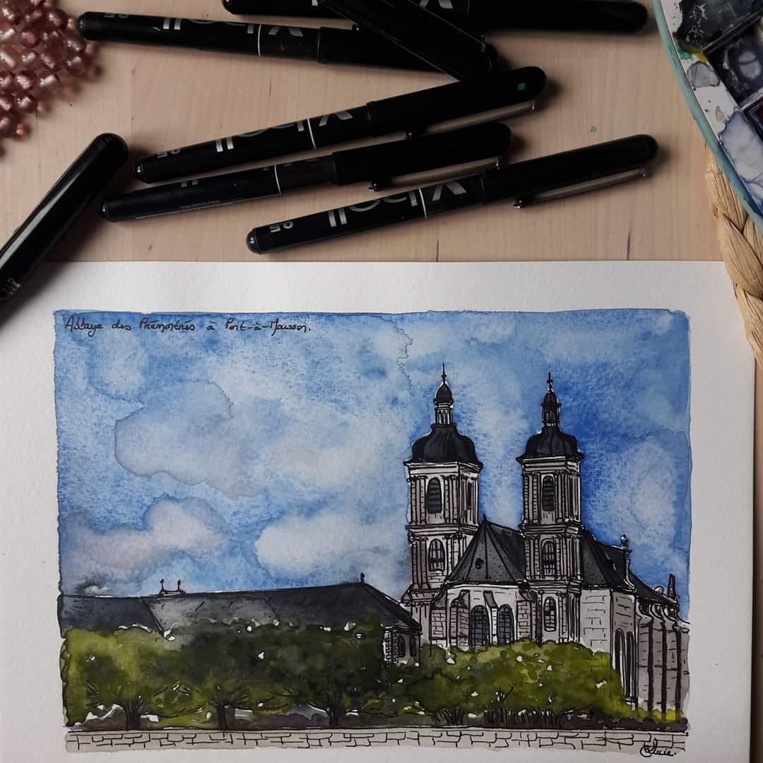 Abbaye des Prémontrés de Pont-à-Mousson.