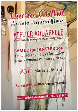 Atelier marque-page