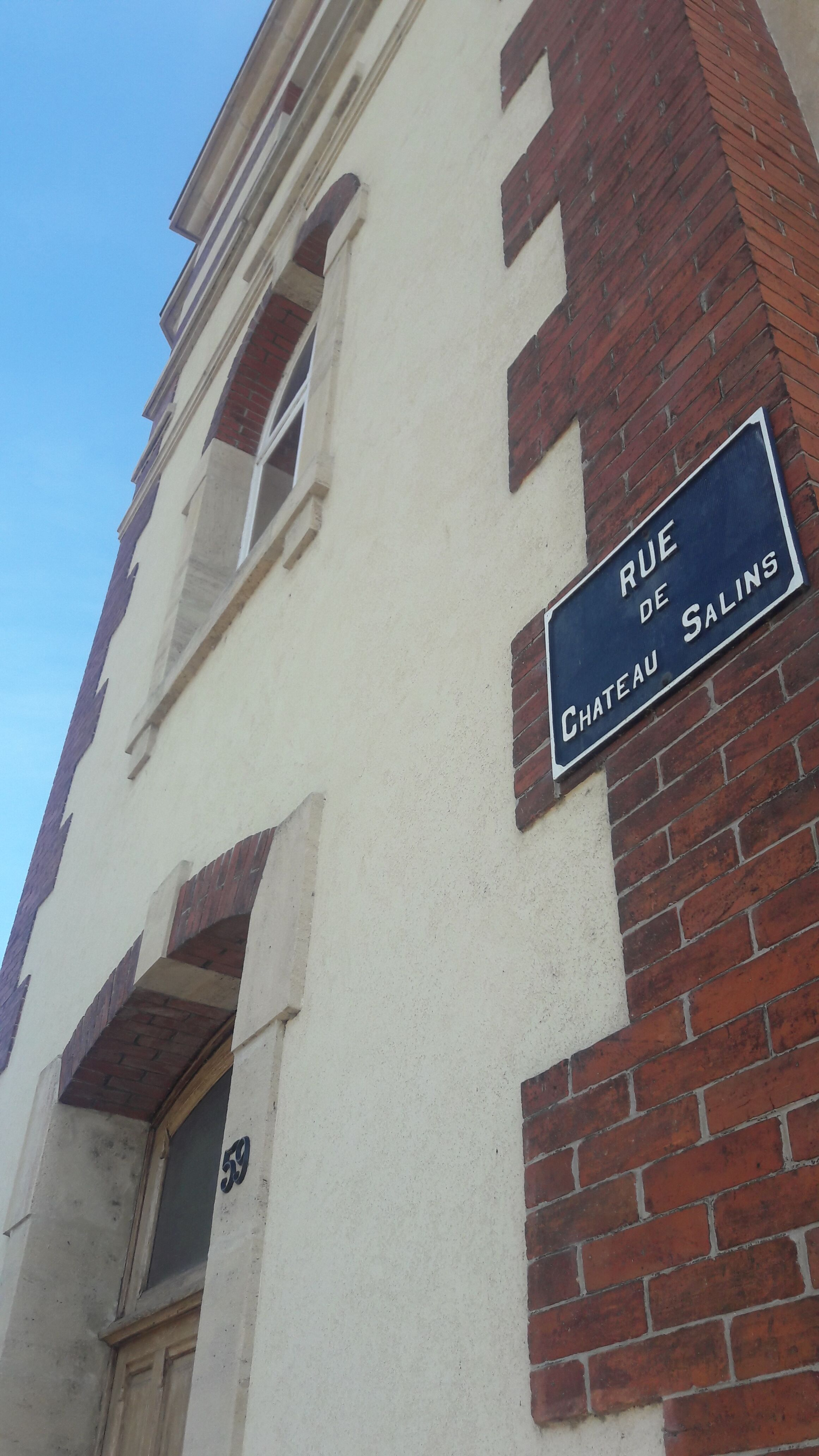 Rue de Château Salins