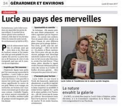 Article Vosges Matin - 20 mars 2017