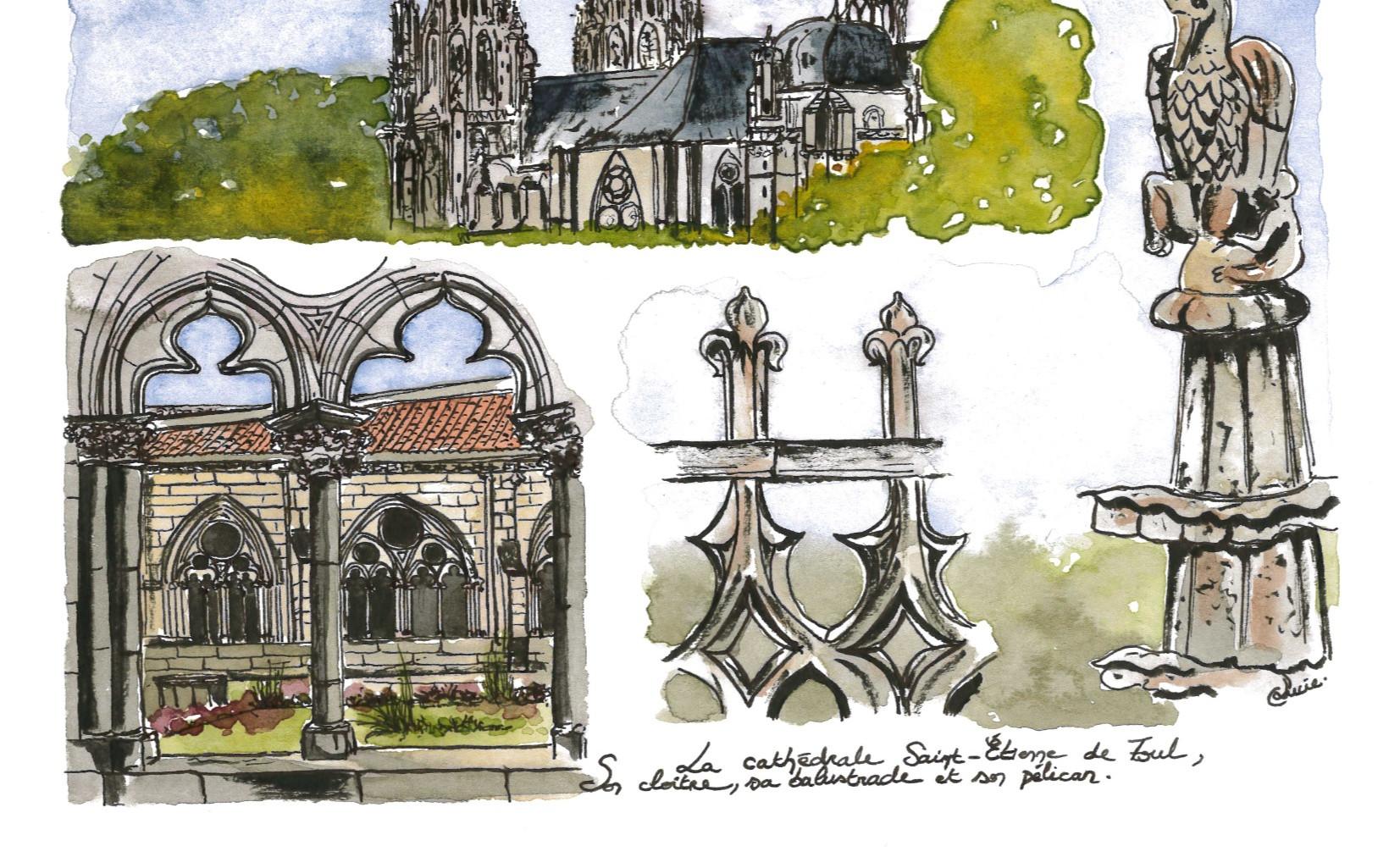 La cathédrale de Toul