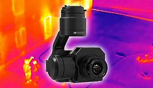 DJI thermal imaging camera
