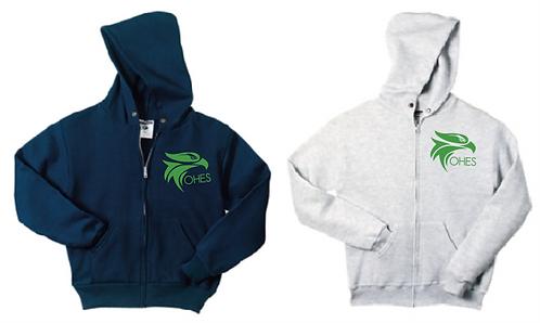 JERZEES® Youth - NuBlend® Full-Zip Hooded Sweatshirt