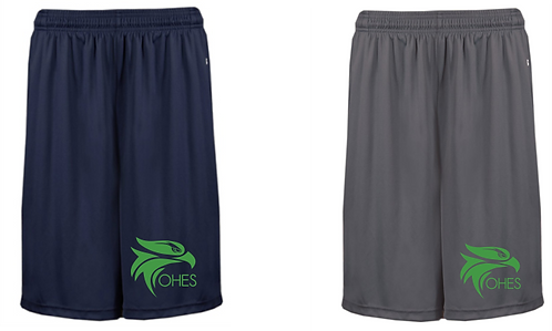 Badger Sport Adult B-CORE POCKETED 10 INCH SHORT