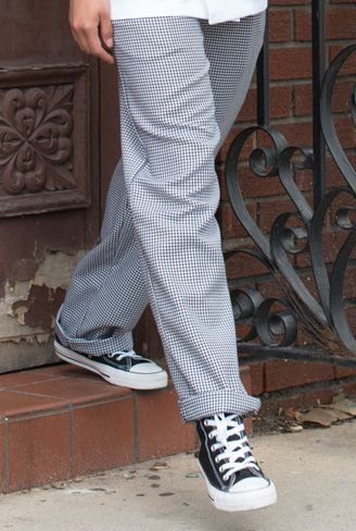 Chef Pant Houndstooth