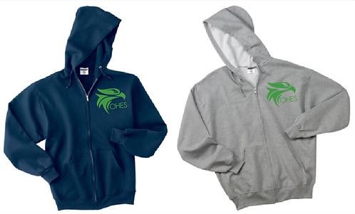 JERZEES® Adult - NuBlend® Full-Zip Hooded Sweatshirt
