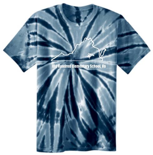 Adult Port & Company® Tie-Dye Tee