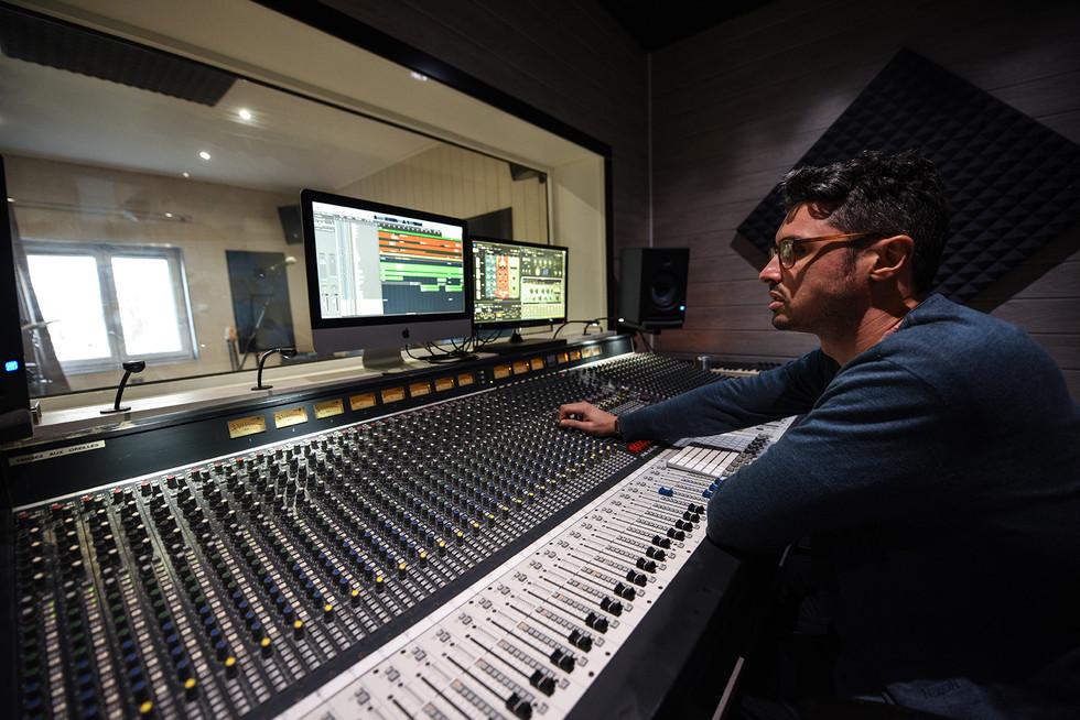 Christophe Gras - Sound Engineer