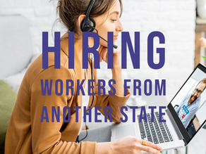 Hiring from Out of State