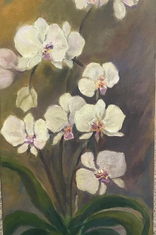 """Orchids"" 10x20 Katie McGarry"