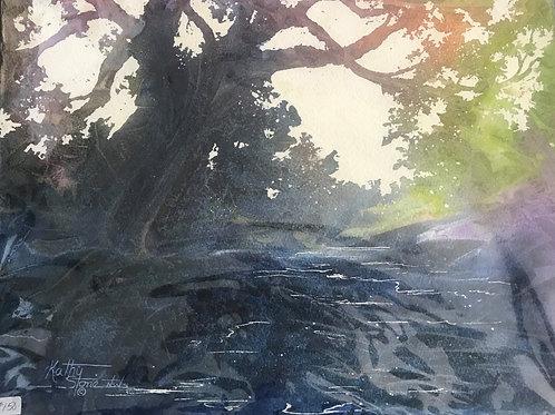 Original Watercolor Kathy Stone