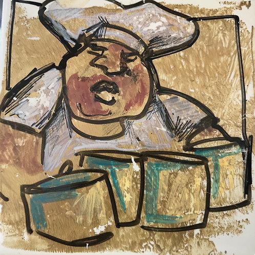 """Chef"" 4x4 Keith Douglas"