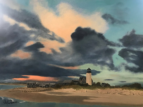 """""""Approaching Storm"""" 24x18 Janice Evans"""