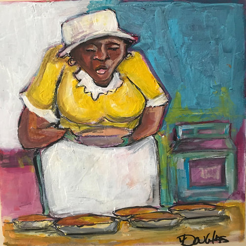 """Sweet Potato Pie"" 12x12 Keith Douglas"
